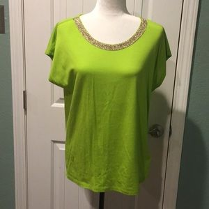 New Michael Kors blouse size medium